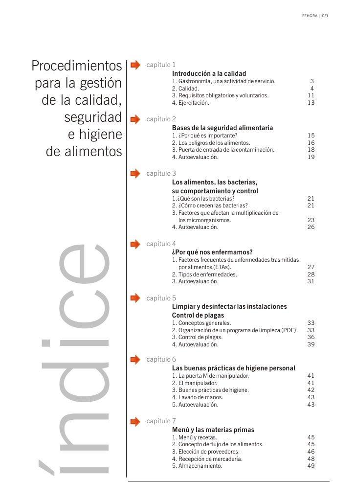 FEHGRA   CFIProcedimientos     capítulo 1                            Introducción a la calidadpara la gestión            1...