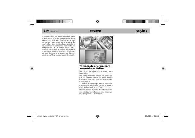 Manual Captiva 2015 da Chevrolet