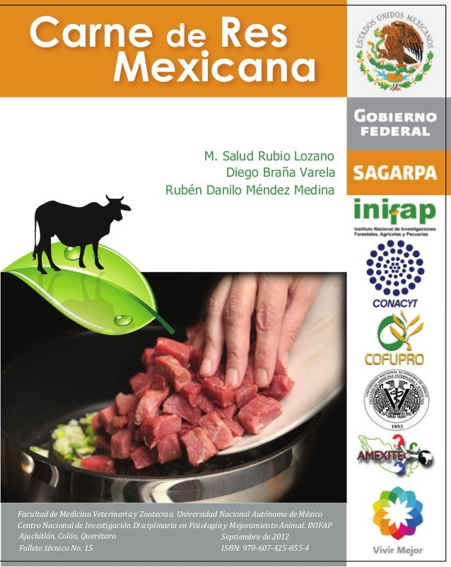 Manual carne de res mexicana for Manual tecnicas culinarias