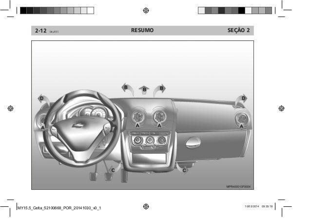 manual celta 2015 da chevrolet rh pt slideshare net manual celta 2010 pdf manual celta 2010 pdf