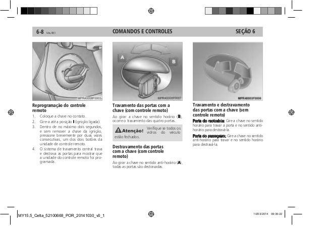 manual celta 2015 da chevrolet rh pt slideshare net manual fusivel celta 2010 manual fusivel celta 2010