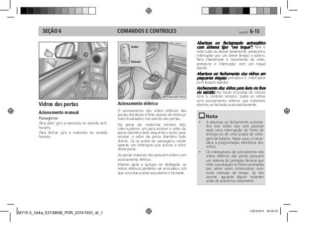 Manual Celta 2015 da Chevrolet