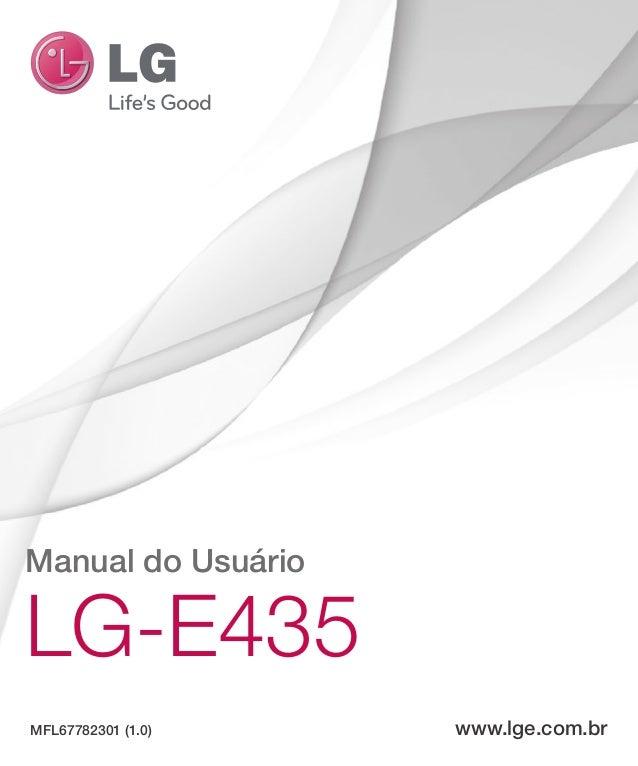 Manual do Usuário LG-E435 MFL67782301 (1.0) www.lge.com.br