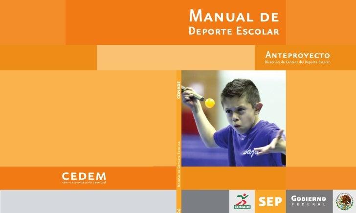 Manual de Deporte Escolar