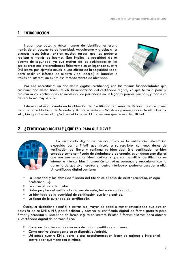 Manual certificado digital for Oficina certificado digital