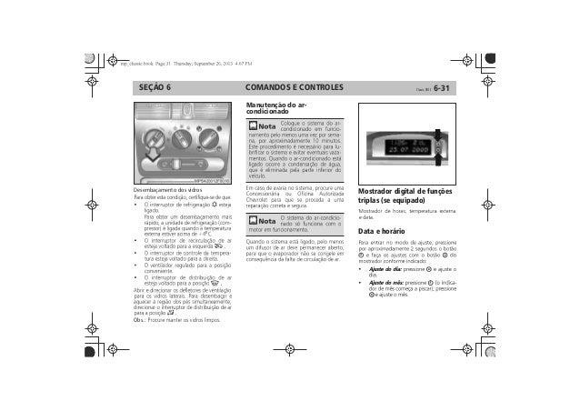 Manual Chevrolet Classic