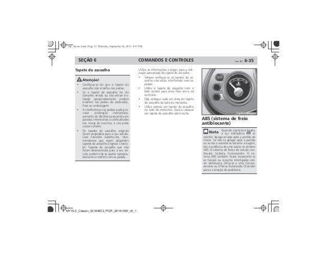 Manual Classic 2015 Chevrolet