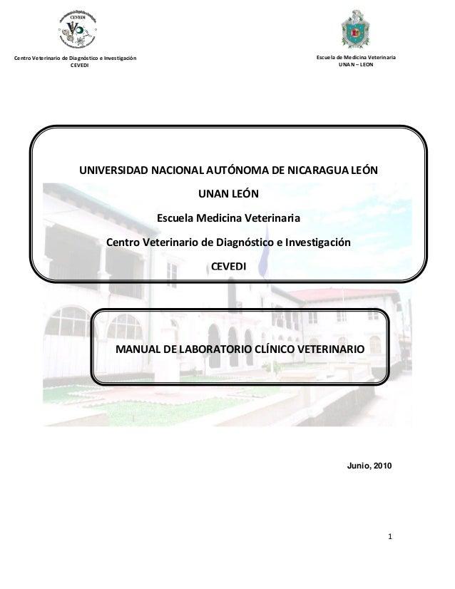 Manual clinico veterinario esc veterinaria unan león