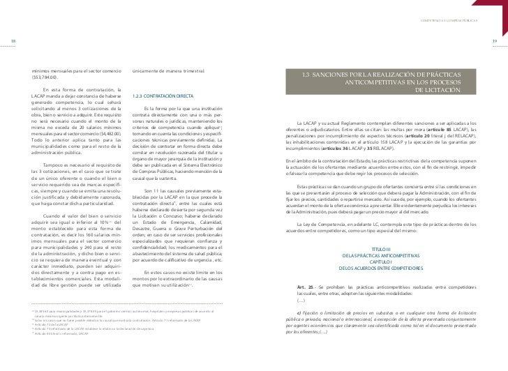 COMPETENCIA Y COMPRAS PÚBLICAS18                                                                                          ...