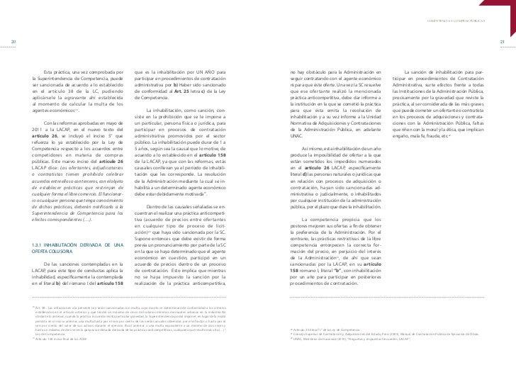 COMPETENCIA Y COMPRAS PÚBLICAS20                                                                                          ...