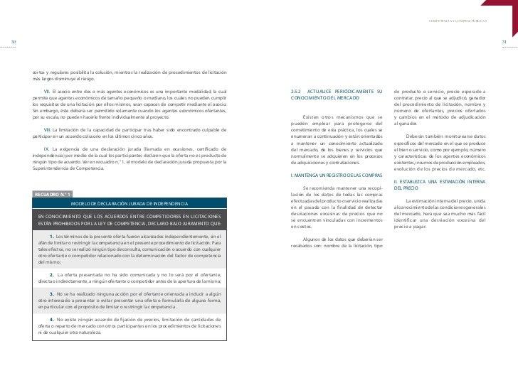 COMPETENCIA Y COMPRAS PÚBLICAS30                                                                                          ...