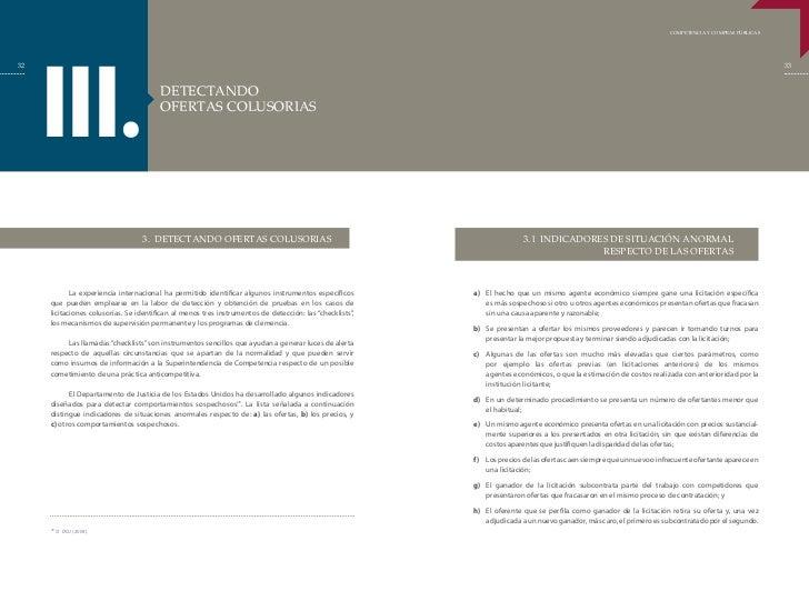 COMPETENCIA Y COMPRAS PÚBLICAS     III.32                                                                                 ...