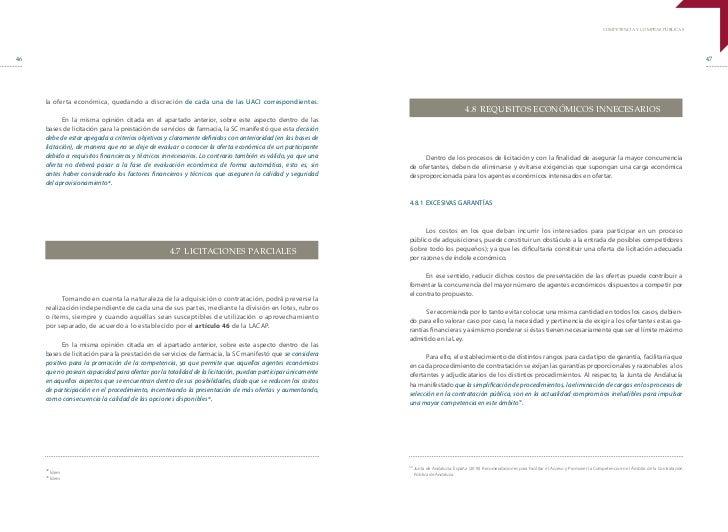 Competencia y  Compras Públicas