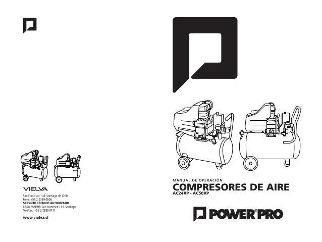 Manual compresor ac160200_xp