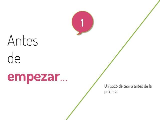 3  Antes de empezar… @beagonpoz  Un poco de teoría antes de la práctica.  www.beriodismo.net