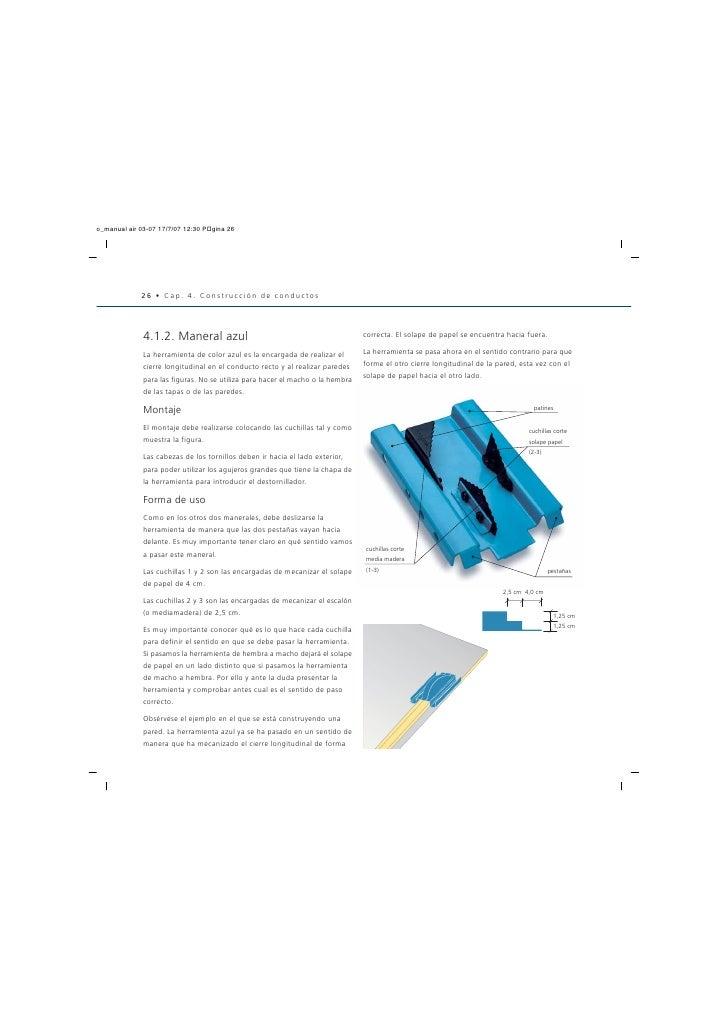 Manual conductos aire acondicionado