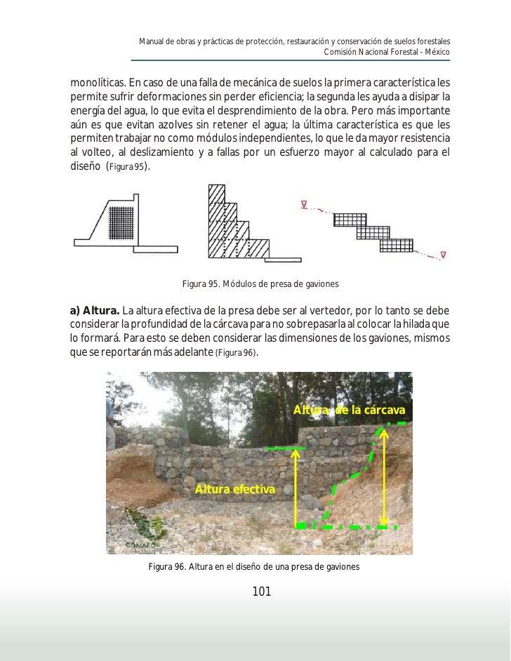 Manual de obras y prácticas de protección, restauración y conservación de suelos forestales                               ...