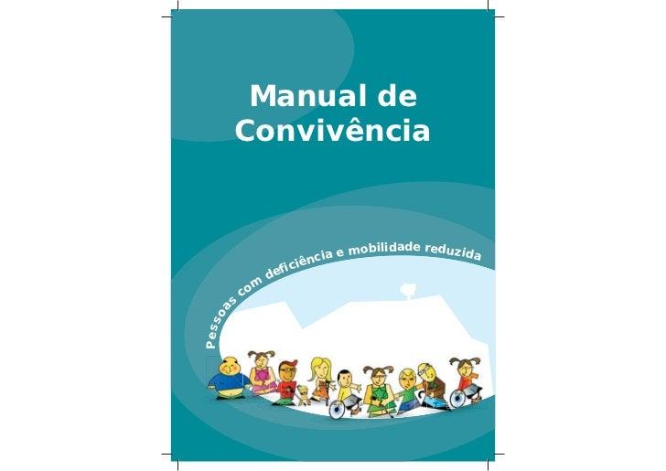 Manual de          Convivência                                               m o b i li d a d e r e d u z i d a           ...