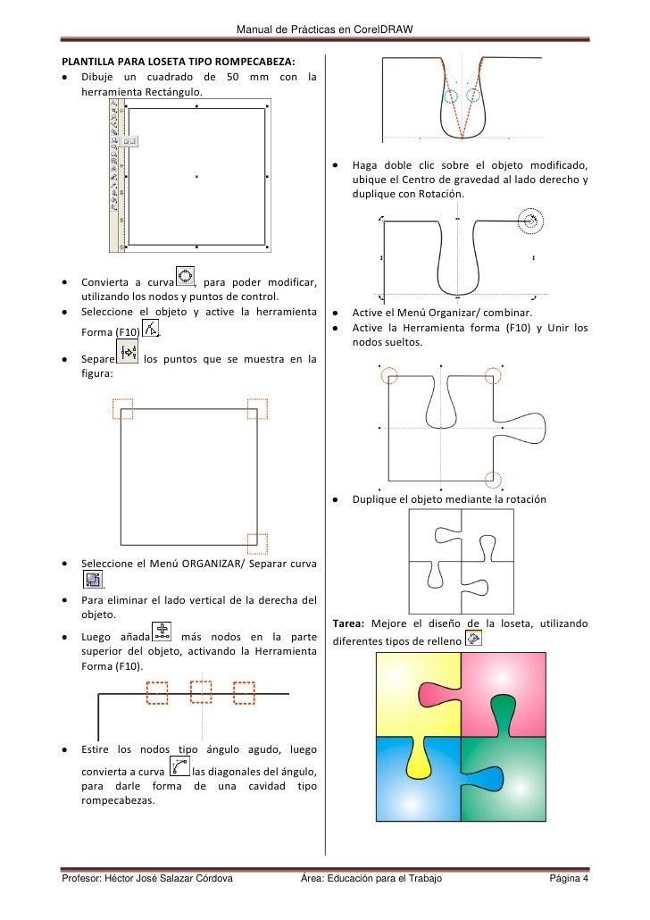manual coreldraw x3 unasam cociap 2011 rh es slideshare net guide corel draw x3 tutorial corel draw x3 youtube