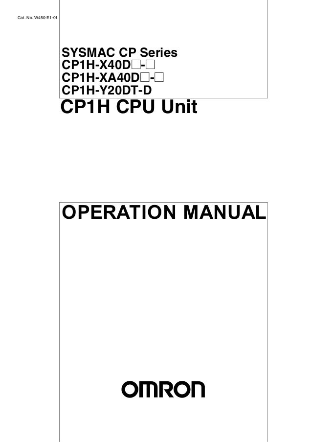 Manual CLP Omron CP1H