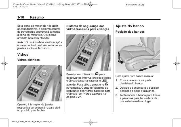 Manual Cruze Sport6 2015 Chevrolet