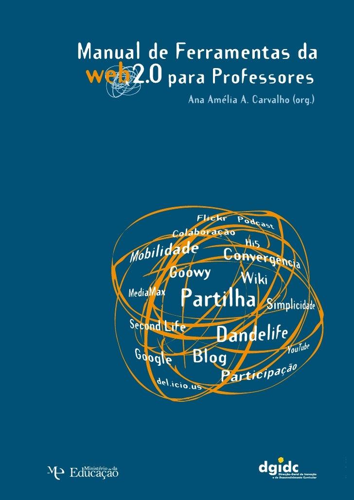 Manual de Ferramentas da Web 2.0 para Professores  Manual de Ferramentas da Web 2.0 para Professores                      ...
