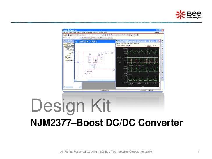 Boost Converter Design Engineer