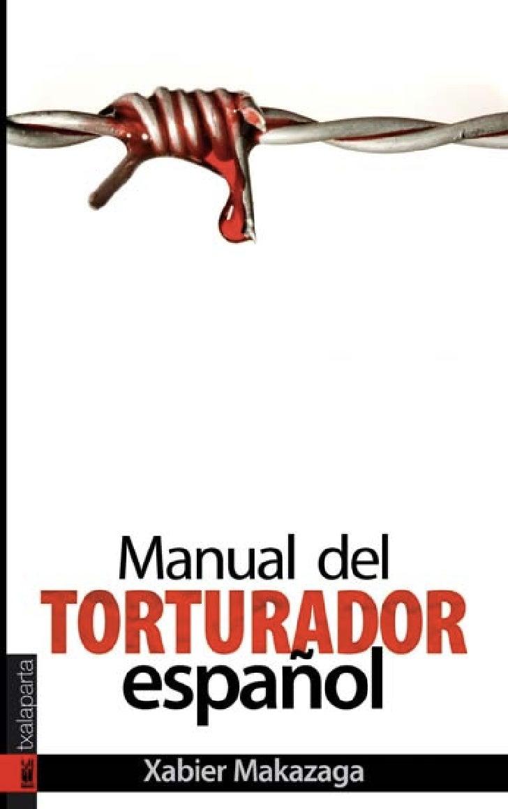 Manual del torturador español                                3