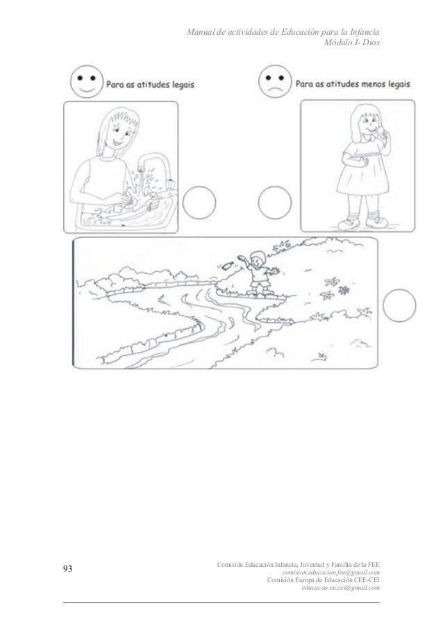 Manual de actividades de Educación para la Infancia