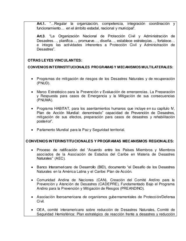 Manual de administracin de desastres Municipal