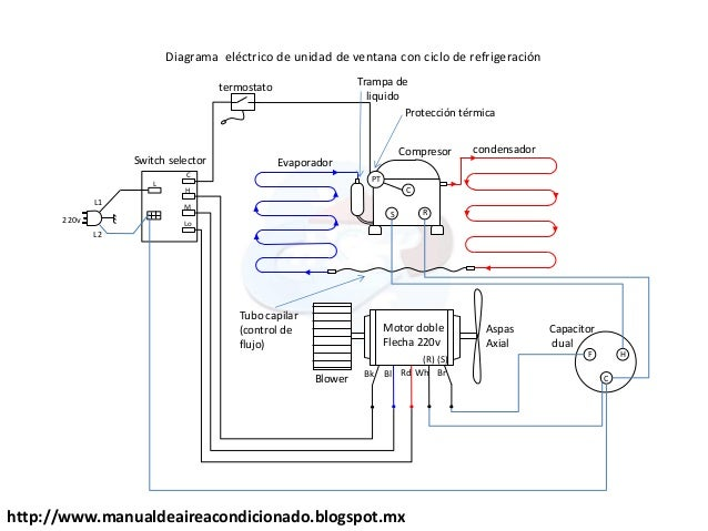 Wiring diagram for copeland scroll compressor walk in for Walk in freezer motor
