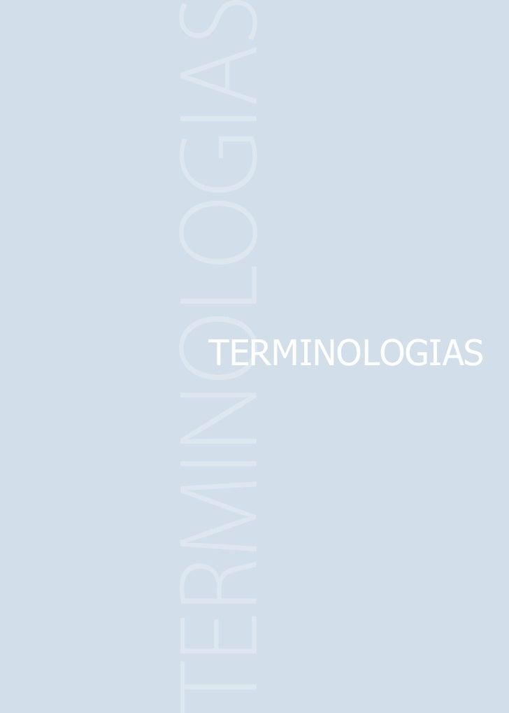 TERMINOLOGIAS 63