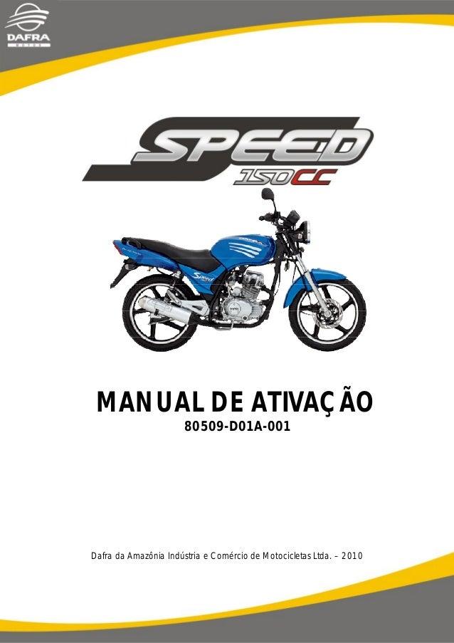 Manual de ativaã§ã£o speed   80509-d01 a-001