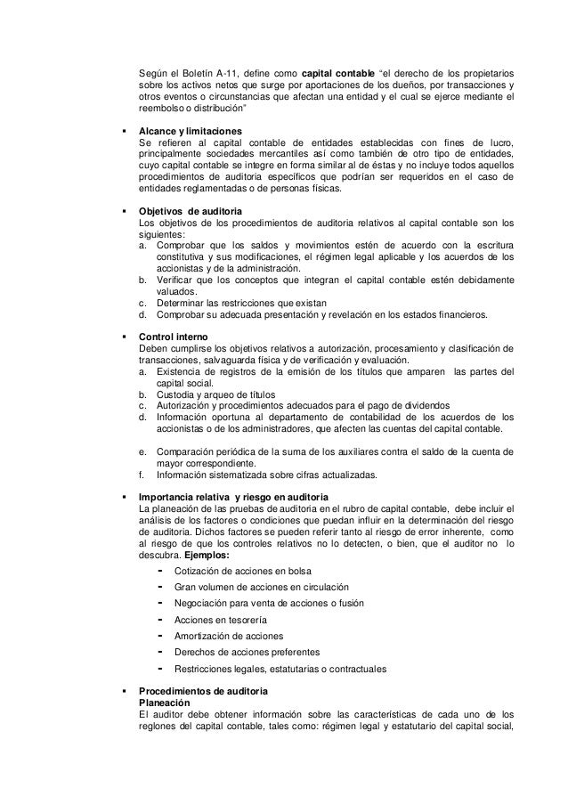 Manual de auditoría financiera