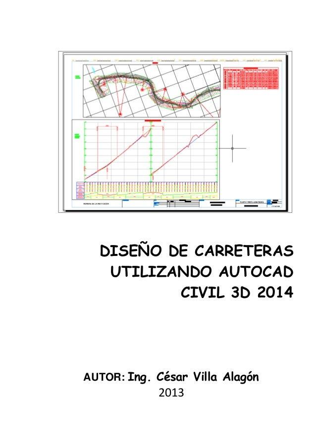 Manual De Autocad Civil 3 D 2014 Para Carreteras border=