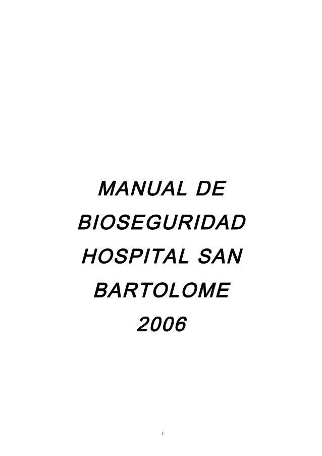 Manual de bioseguridad dr li