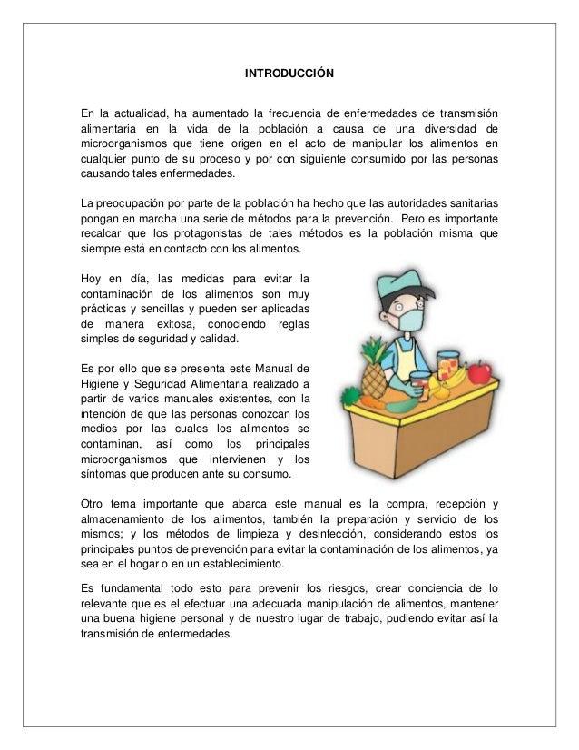 Manual de buenas practicas de higiene y sanidad for Manual de limpieza y desinfeccion en industria alimentaria