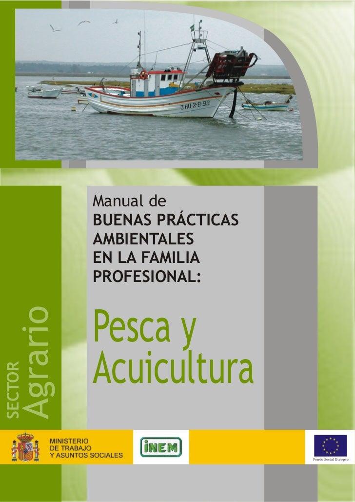 Manual de buenas pr cticas ambientales pesca y acuicultura for Manual de acuicultura pdf
