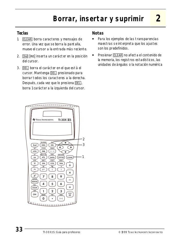 Manual de calculadoras