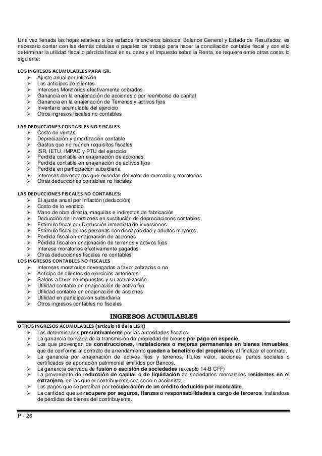 Manual de calculo y presentacion de declaracion anual pm 2014