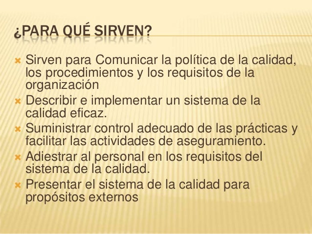 Sistema de gestion de calidad representante de la dirección ppt.