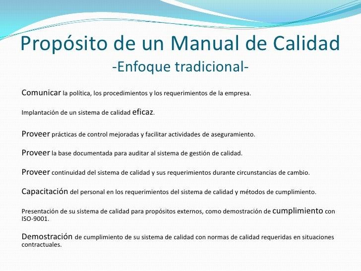 manual de calidad r0