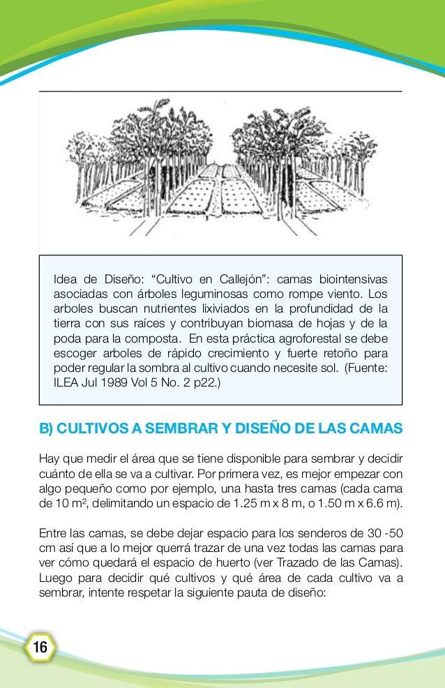 Método del Cultivo Biointensivo - Manual de Campo