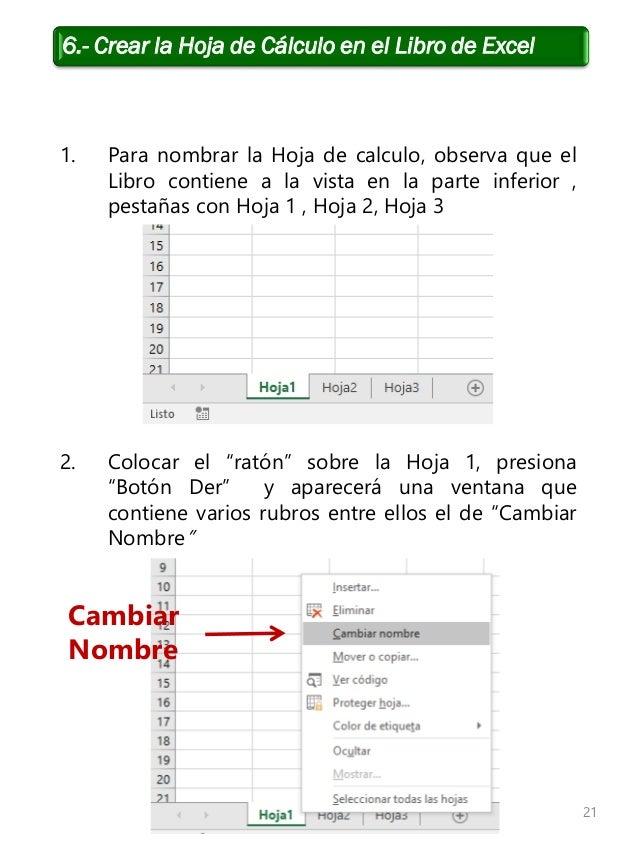Manual Capacitación Manejo del procesador de hojas de cálculo EC0108 …