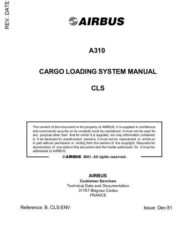 manual de carga a 310 rh slideshare net Technical Book 92F Technical Manuals