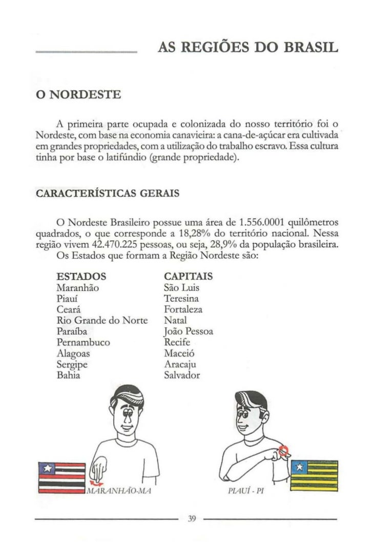 Suficiente Manual de Ciencias e Geografia em Libras SZ79
