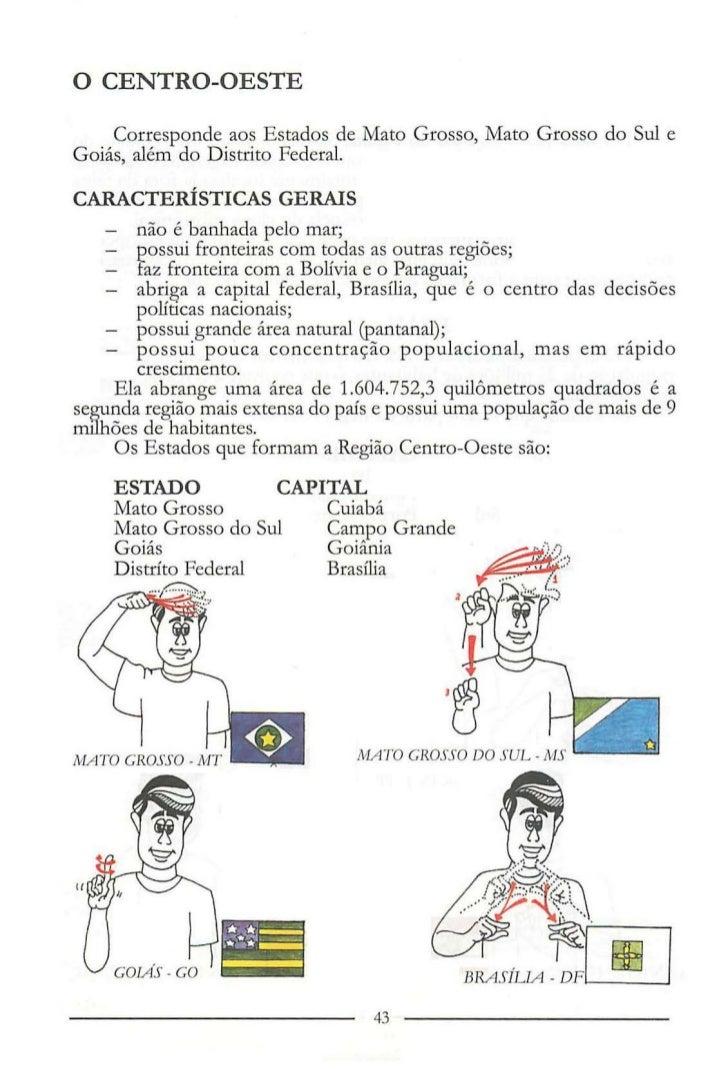 Conhecido Manual de Ciencias e Geografia em Libras TJ58