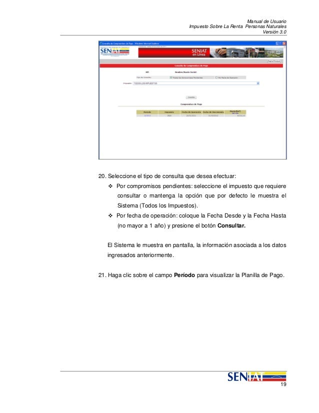 Manual para declaracion de retenciones de islr