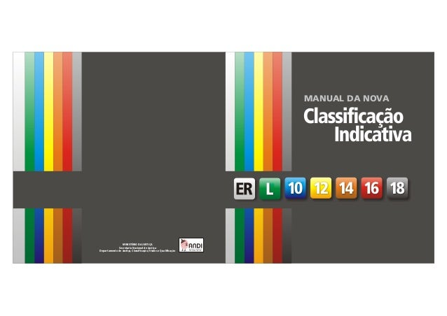 Manual da Classificação Indicativa   1                                                                   SUMÁRIO1. Classif...