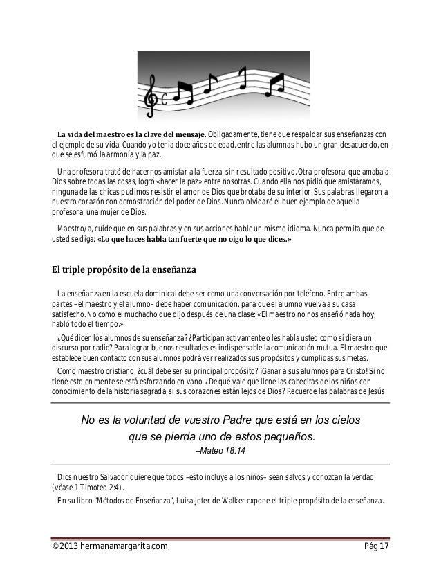©2013 hermanamargarita.com Pág 18 a los alumnos para Cristo. la vida espiritual de los alumnos. a los alumnos para la obra...